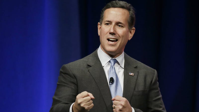 Illustration for article titled Rick Santorum, Still Running for President, Is Bummed More Women Are Attending College