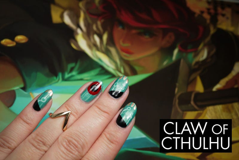 Illustration for article titled Transistor-Themed Nail Polish