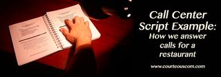 call center script www.courteouscom.com