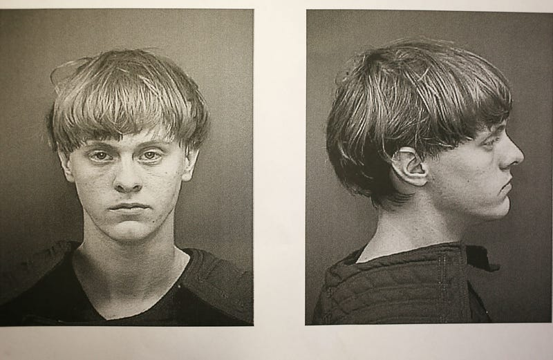 Dylann Roof is seen in his booking photo after he was apprehended in the June 17, 2015, mass shooting at Emanuel African Methodist Episcopal Church in Charleston, S.C., that left nine people dead at one of the nation's oldest black churches.Charleston County, S.C., Sheriff's Office via Getty Images