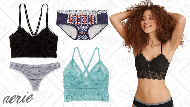 2-for-$31 sale on bralettes | $4 undies