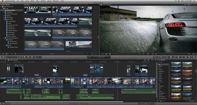 Illustration for article titled The Latest Final Cut Pro X Update Brings the Features Pro Editors Have Been Demanding