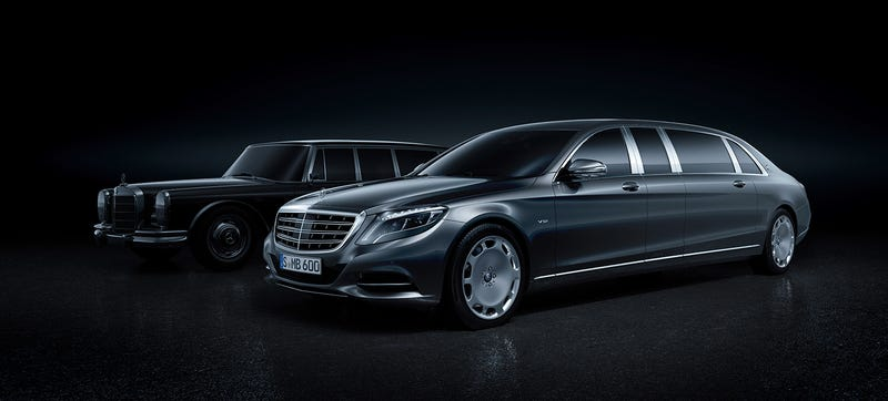 Illustration for article titled Mercedes-Maybach S-Class Pullman: This Is All Of It