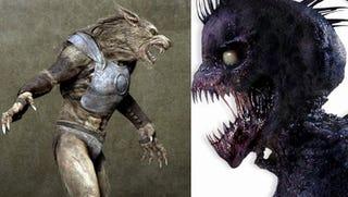 Illustration for article titled Werewolves In Armor Versus Vampire Bill Versus Ice