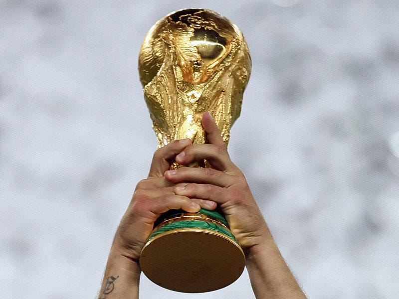 Illustration for article titled 2014 World Cup Group Stage Odds Released
