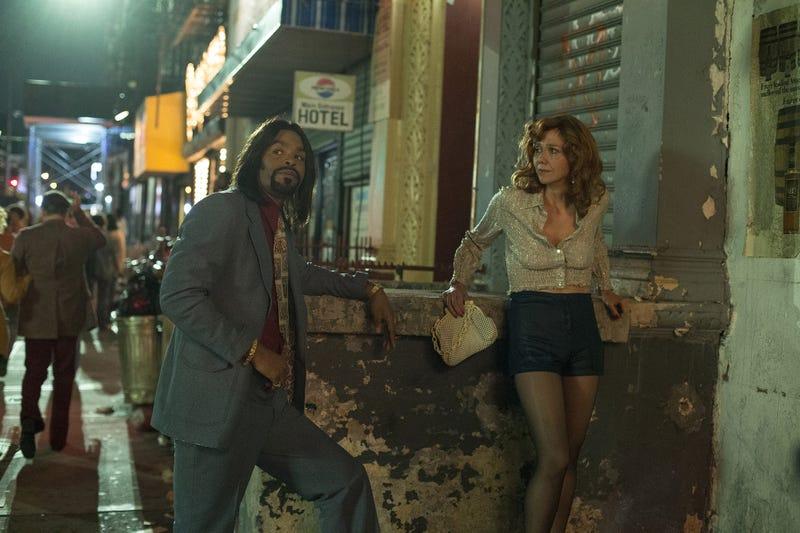 "Cliff ""Method Man"" Smith (left), Maggie Gyllenhaal (Photo: Paul Schiraldi)"