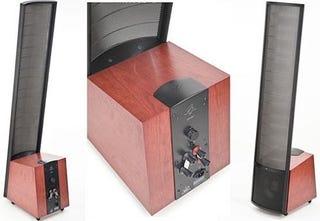 Illustration for article titled MartinLogan Spire Speakers— $8,500 of Electrostatic Sound