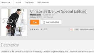 Illustration for article titled Get a Free Christmas Album at Google Play Music (and Other Discounts)