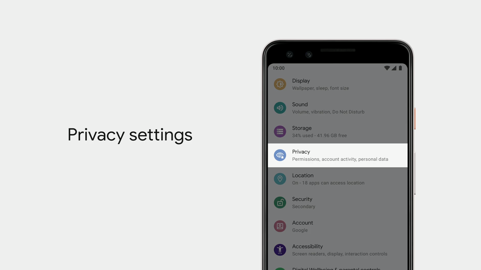 A List of Privacy Features Google Talked About at Google I/O