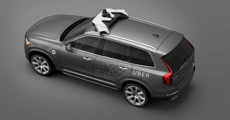 Illustration for article titled Uber Self-Driving Test Car Kills Pedestrian In Arizona