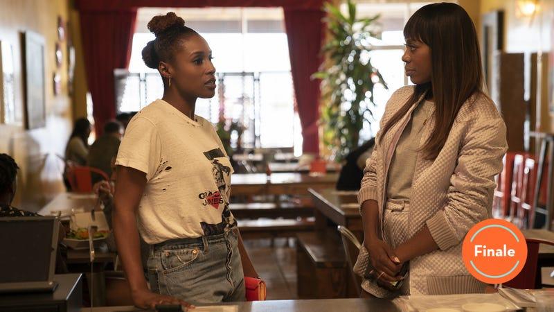 Issa Rae (left), Yvonne Orji