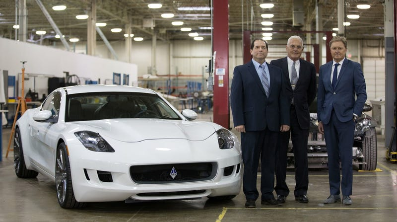 Illustration for article titled Henrik Fisker And Bob Lutz Are Teaming Up To Create The Ultimate American Supercar