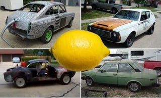 Illustration for article titled Brava, Gremlin, Trio Of Air-Cooled VWs Gird For Next Weekend's Battle: Yeehaw It's Texas LeMons!