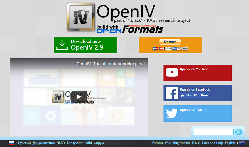 Popular GTA V Modding Tool OpenIV Is Once Again Being