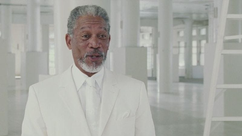 These Bruce Almighty screengrabs will forever come in handy when discussing Morgan Freeman