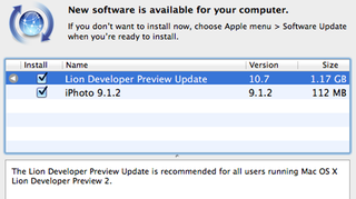 Illustration for article titled Apple Outs Update for OS X Lion Preview 2
