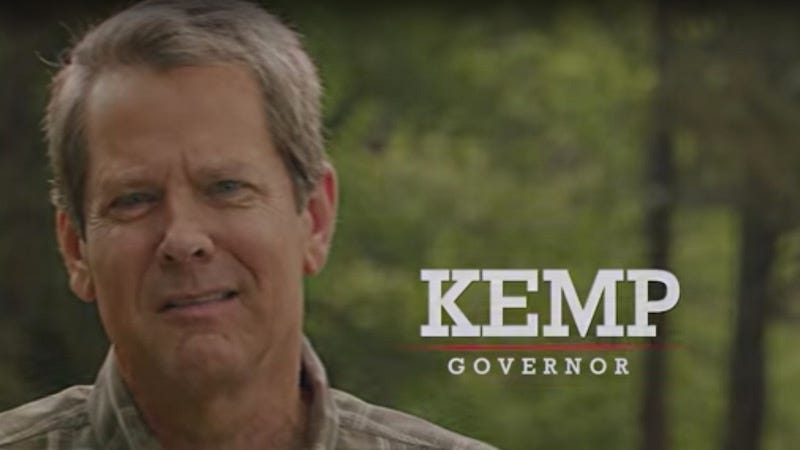 Illustration for article titled The Braves Are Co-Hosting A Fundraiser For Xenophobic Gubernatorial Candidate Brian Kemp