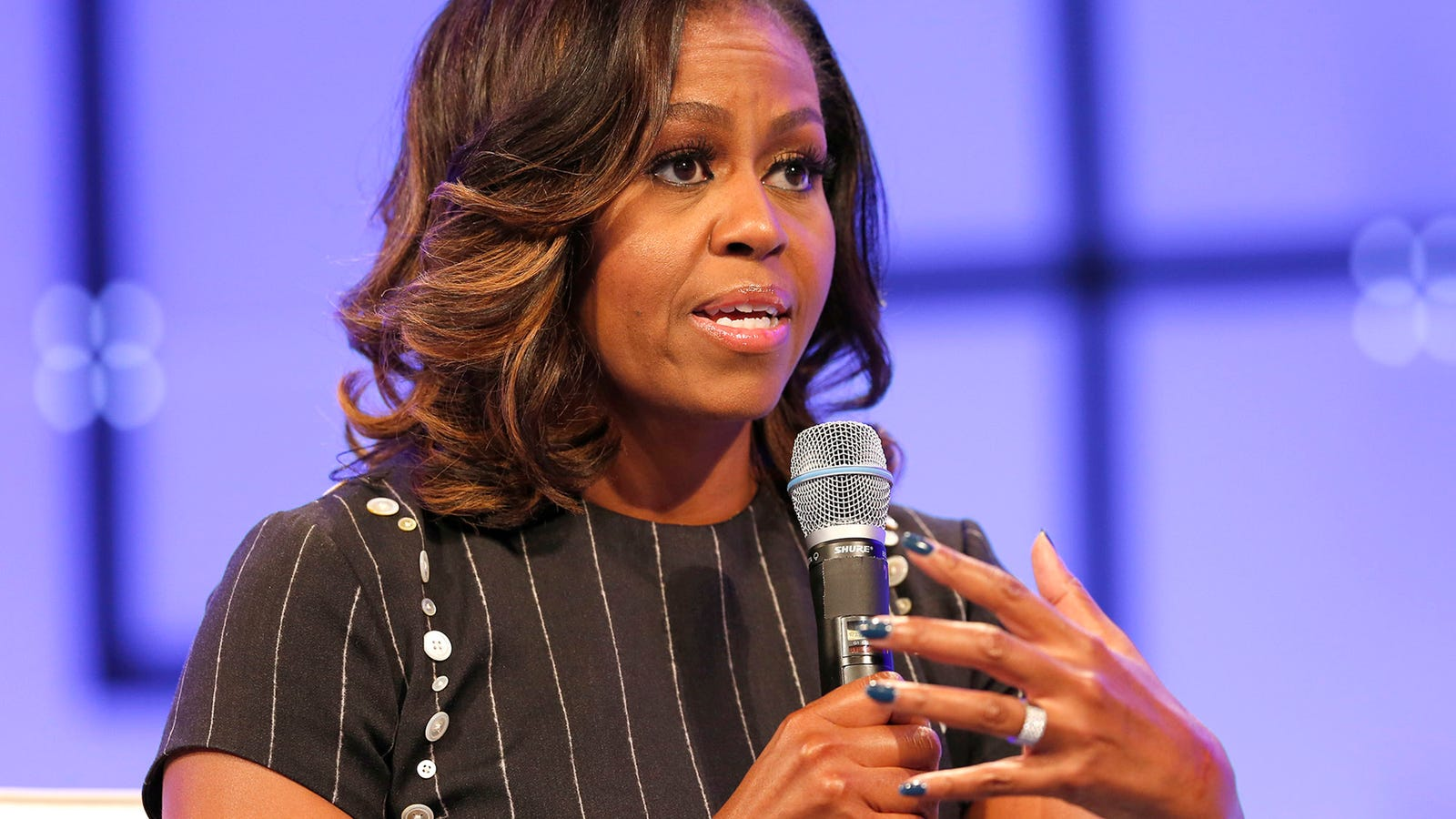 Michelle Obama Admits Barack Had Way Too Much Sperm To Make Natural Conception Possible