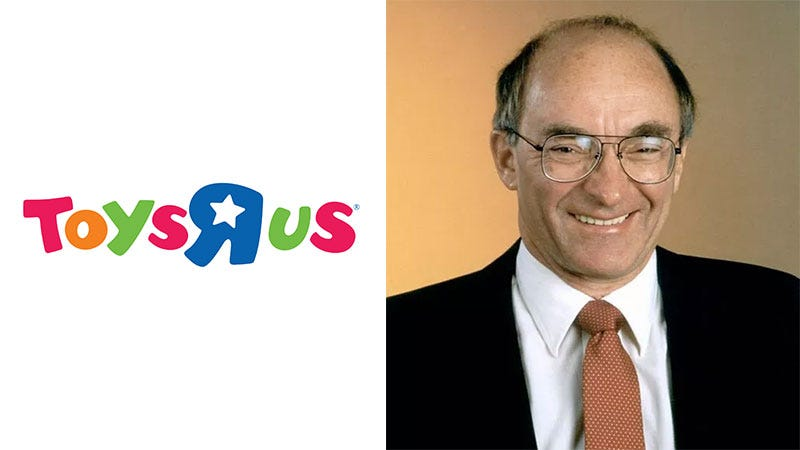 Illustration for article titled Toys 'R' Us' Founder Has Died