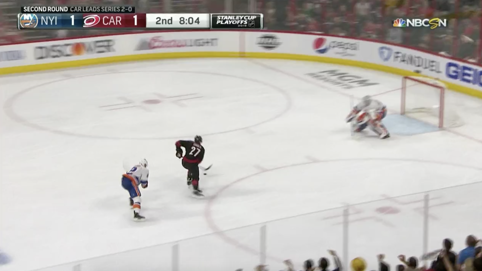Hurricanes' Justin Faulk Waltzes Out Of Penalty Box And Directly Into All Kinds Of Glory - Deadspin
