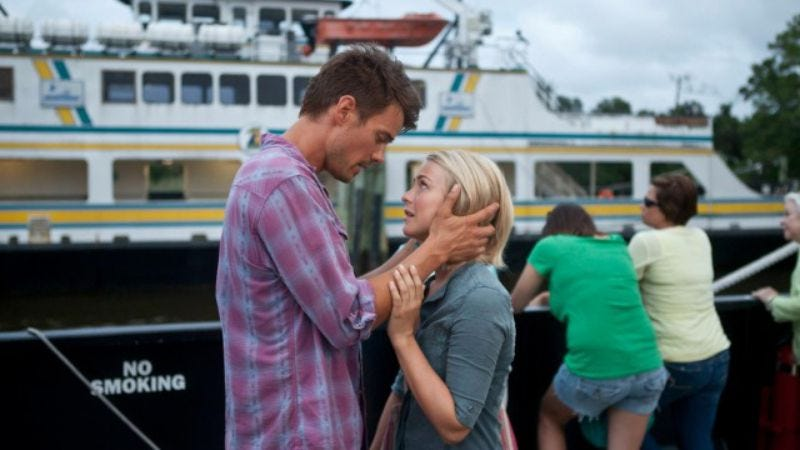 Safe Haven (This is the one with the ghost wife.)