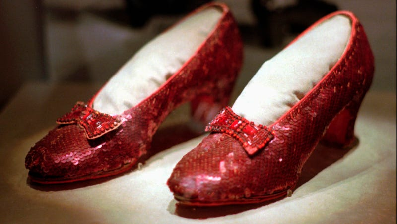 Illustration for article titled The Stolen Ruby Slippers Have Been Found!