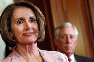 Soon-to-be-former Speaker of the House Nancy Pelosi