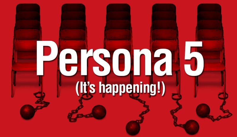Illustration for article titled Persona 5 Announced for the PS3