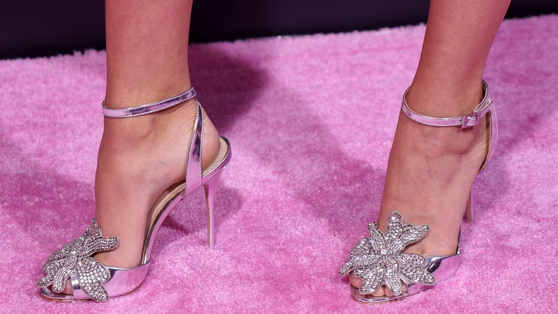 TAKE THOSE OFF AND WALK ON THE CARPET
