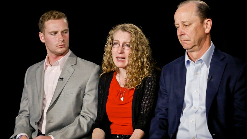 Timothy Piazza's family. Image via the AP.