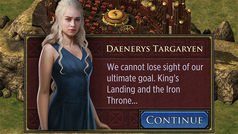 Illustration for article titled Somehow, There Hasn't Been a Crappy Game of Thrones Mobile Strategy Game Until Now