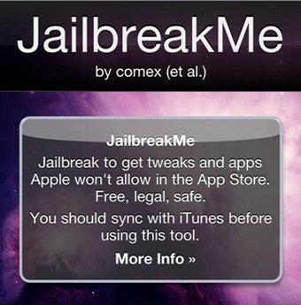 Illustration for article titled Use JailbreakMe to One-Click Jailbreak Your iOS 4.x Device
