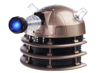 Illustration for article titled The Dalek Voice Changing Helmet Will Exterminate Your Love Life