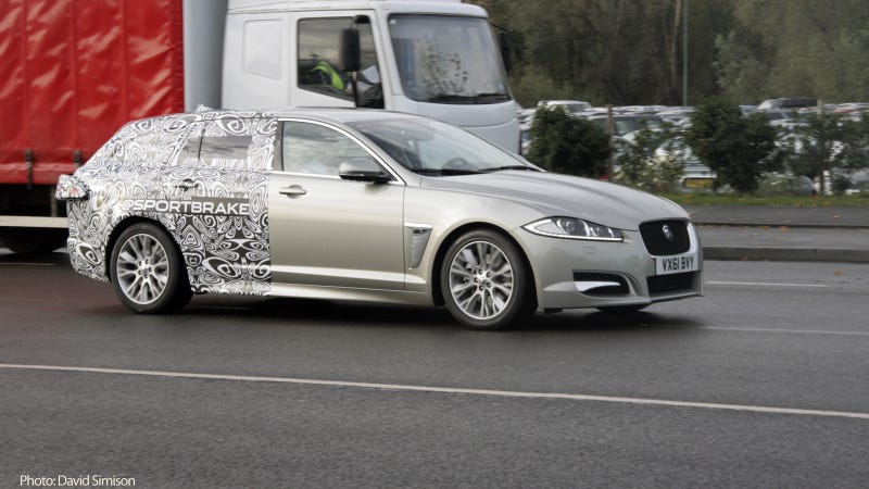 Illustration for article titled Jaguar XF Sportbrake is the XF wagon of our dreams