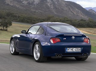 """Illustration for article titled Who else thinks the BMW Z4 M coupe is a """"Future Classic""""?"""