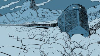 Illustration for article titled The original Snowpiercer comic is dystopian scifi at its best