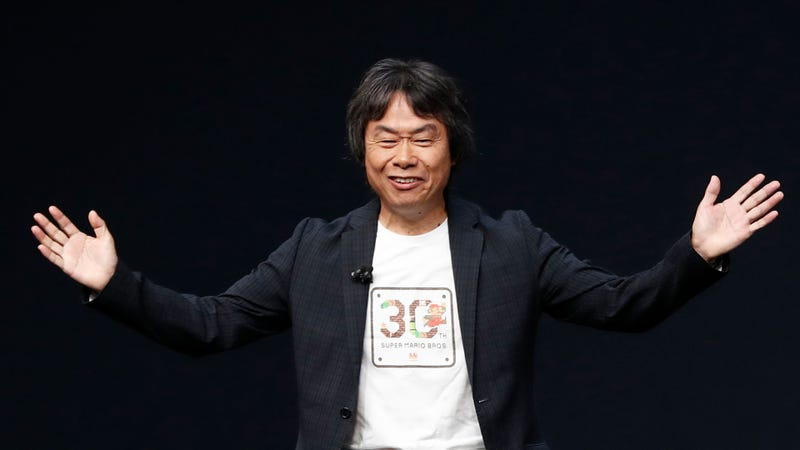 Illustration for article titled Shigeru Miyamoto Is Now Nintendo's Dad