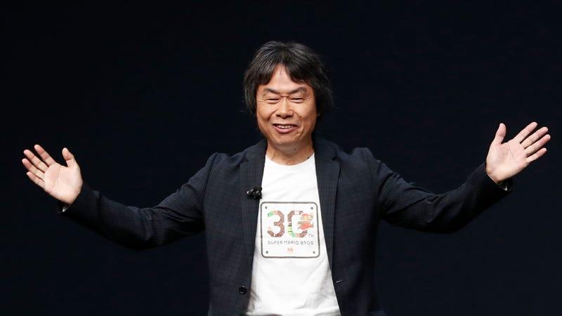 Shigeru Miyamoto Is Now Nintendo's Dad