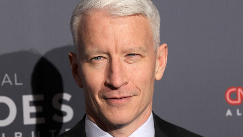 Illustration for article titled Please enjoy Anderson Cooper spectacularly failing to drink shots of tequila on New Year's Eve