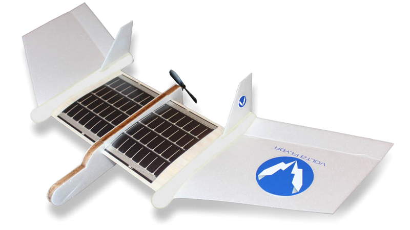 Illustration for article titled This Solar-Powered Plane Doesn't Come With Batteries and Doesn't Need 'Em