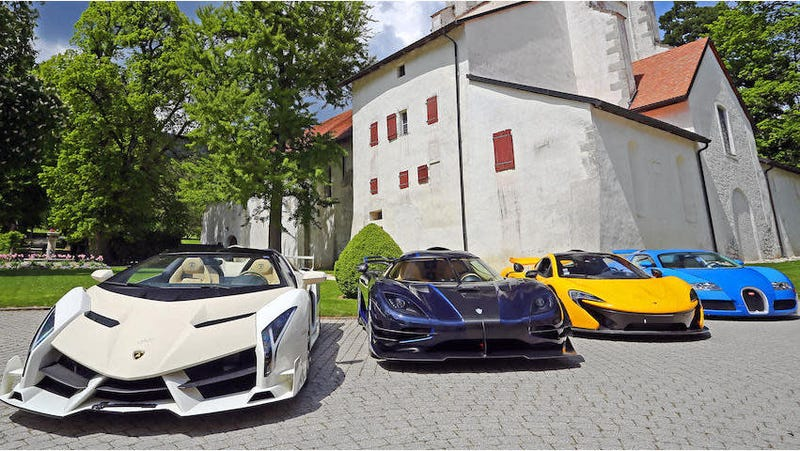 Illustration for article titled Supercars Seized From African Dictator's Son, Again, Will Be Auctioned for Estimated $13 Million