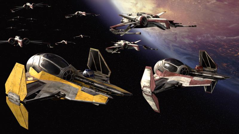 """""""Aquí es donde empieza la diversión"""".Imagen: Disney/Lucasfilm"""
