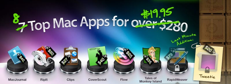 Illustration for article titled MacHeist: Get 8 Mac Apps Worth $280 For $20