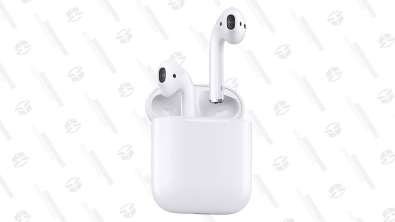 Apple AirPods | $128 | Rakuten | Usa el código SAVE15Gráfico: Shep McAllister