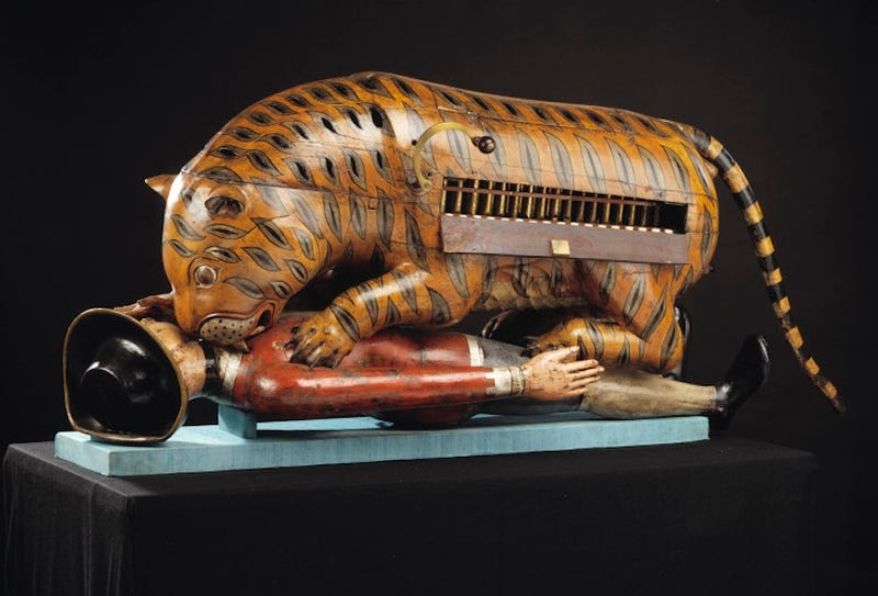 the mechanical beauty of early automatons