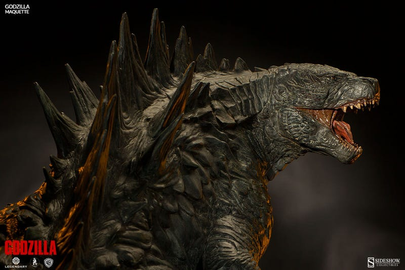 Illustration for article titled This stunningly monstrous Godzilla maquette has a lofty price tag