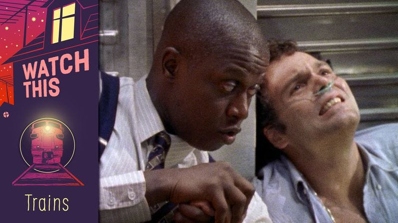 """Andre Braugher and Vincent D'Onofrio in """"Subway"""""""