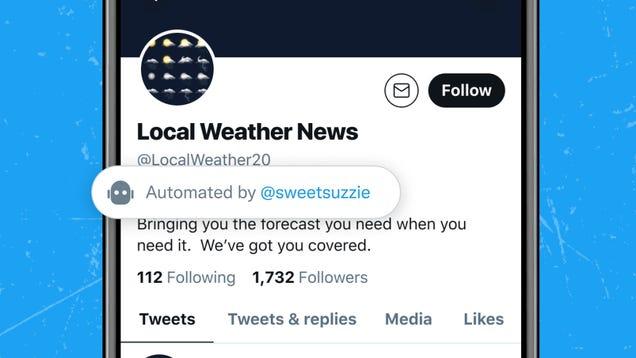 Twitter Finally Embraces Bots