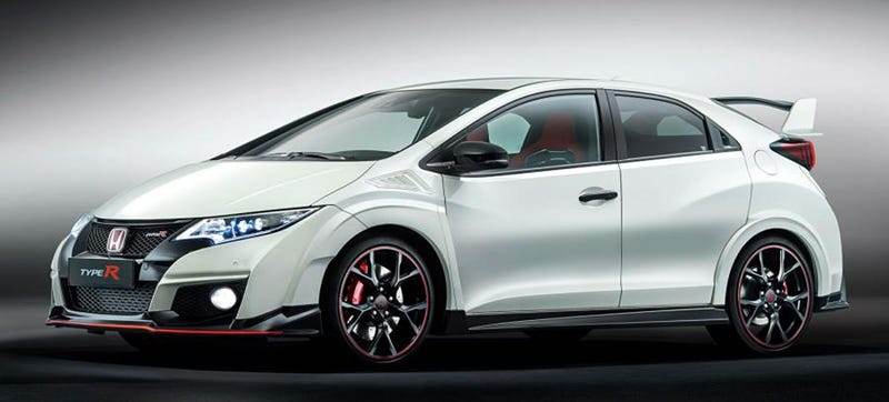 the 2016 honda civic type r is 310 hp worth of turbo vtec. Black Bedroom Furniture Sets. Home Design Ideas