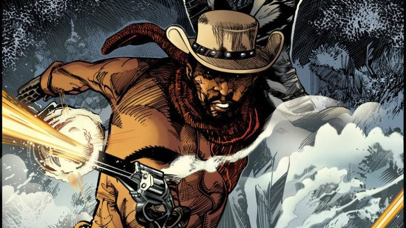 Illustration for article titled Quentin Tarantino writing a Django Unchained and Zorro crossover comic